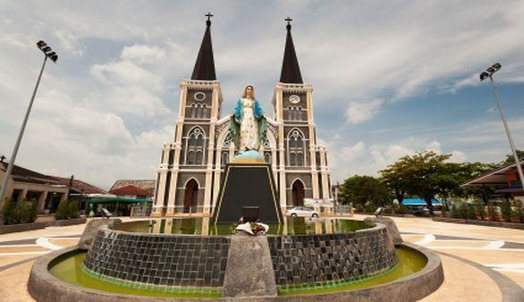 Kathedrale in Chanthaburi