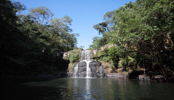 Wasserfall in Trat