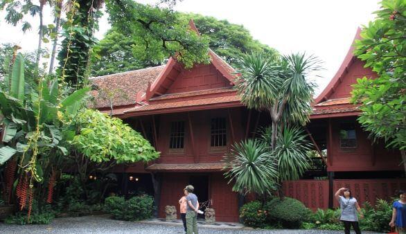 Jim thompson haus for Traditionelles thai haus
