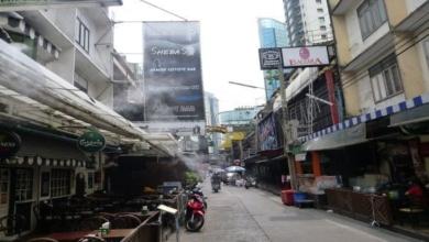 Vergnügungsviertel Soi Cowboy in Bangkok