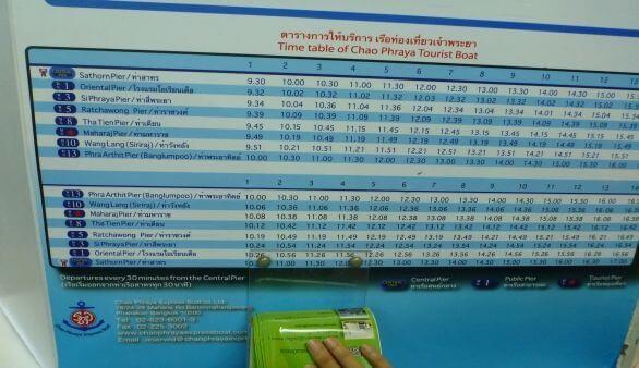 Chao Phraya Express Boats