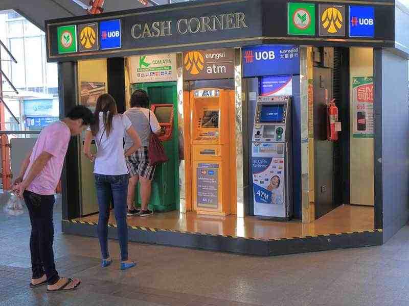 ATM in Thailand