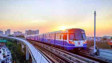 Der Bangkok Skytrain