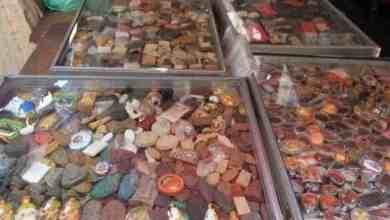 Amulettemarkt in Bangkok