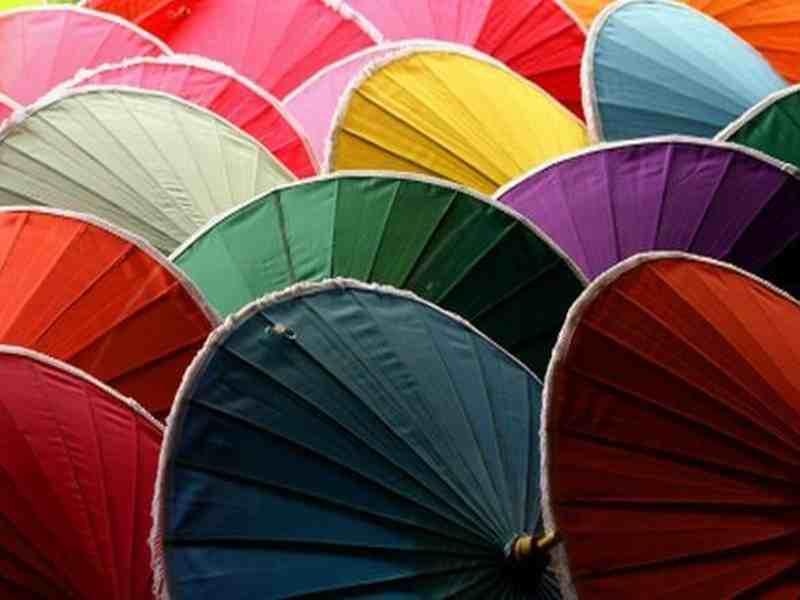 Farben in Thailand