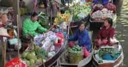Schwimmende Märkte in Thailand
